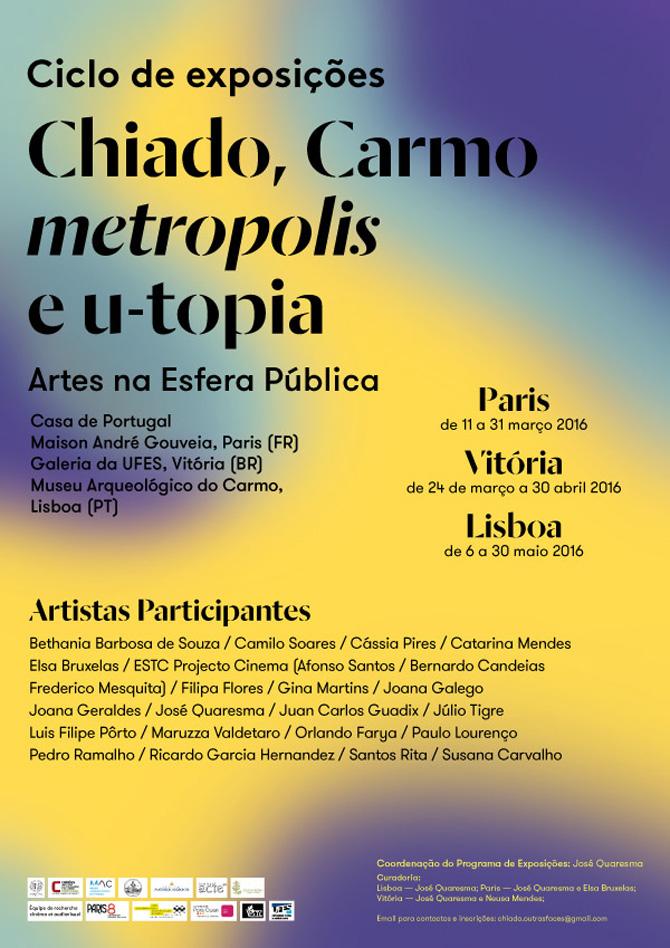 Júlio Tigre e Orlando Farya | Ciclo de Exposições internacional | Paris, Lisboa e Vitória | Matias Brotas