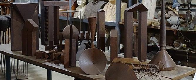 Vilar | Esculturas em aço | Galeria de Arte Espaço Universitário –UFES | Vitória-ES | 18 de outubro a 24 de fevereiro