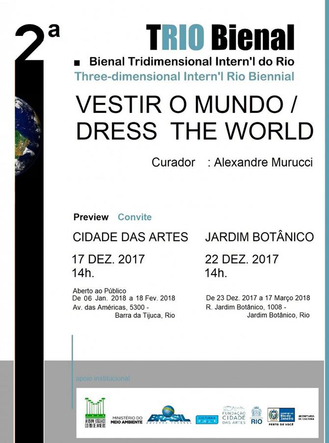 Adrianna EU | 2ª TRIO Bienal | Jardim Botânico | Rio de Janeiro | 17.12.17 a 17.03.2018