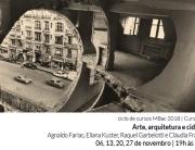 #Curso3 MBac | Inscrições abertas | 'Arte, Arquitetura e Cidade' | 6, 13, 20 e 27 de novembro