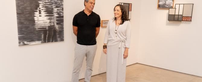 Andre Andrade e Andrea Brown
