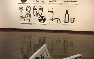 Exposição reúne obras de 19 artistas no Centro Cultural dos Correios