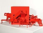 "José Bechara: ""Casa pintada"", série Open House – Projeto A Casa (2006) / foto: Jaime Acioli"