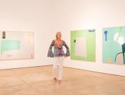 As paisagens são tema constante na trajetória da artista.